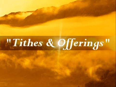 """IOG - """"Tithes & Offerings"""""""