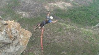 Extreme спорт Роупджампинг: Прыжки Rock&Rope в Шаан-Кая