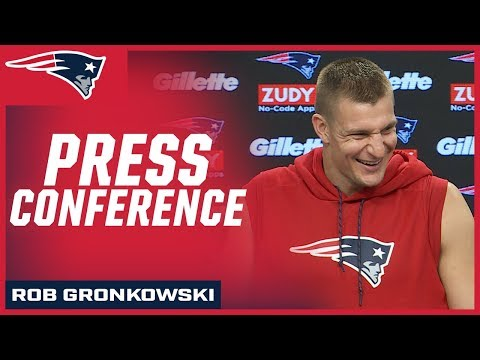 """Rob Gronkowski on playing in Buffalo: """"It's going to be nuts"""""""