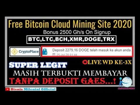 free-cloud-mining-2020-criptoplace-masih-terbukti-legit-🔴live-wd-ke-3x-2276-dogecoin-gratissssss
