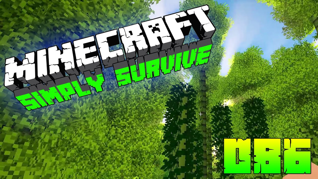 Simply Survive Hd 086 Dicht Dichter Bambuswald Let S Play