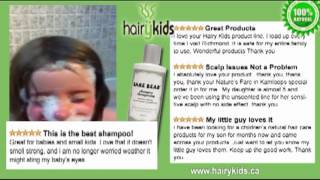 Kids Hair and Skin Products 100% Natural - Hairy Kids Thumbnail