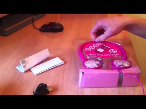 Unboxing Mp3 Hello Kitty