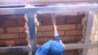 Утепление балкона с помощью установки Foam kit(, 2013-12-06T06:14:52.000Z)