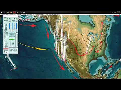 12/08/2017 -- New Round of Seismic activity across Pacific -