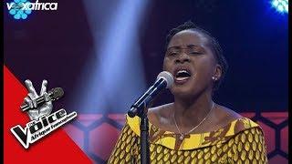 Hermence ' Denyigban ' Bella Bellow Audition à l'aveugle The Voice Afrique francophone 2017