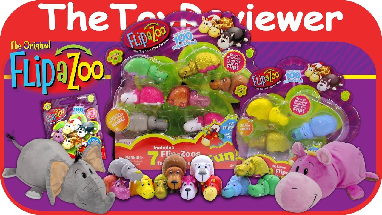 Flipzee Stuffed Toys And Flipazoo Mini Collectibles Blind