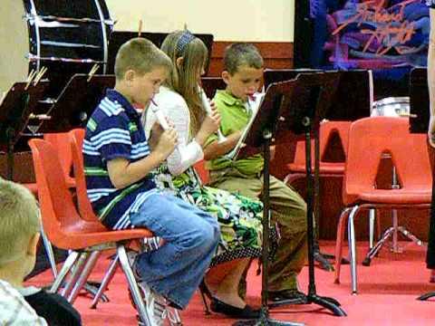 Stidham Public School 3rd & 4th Grade Band