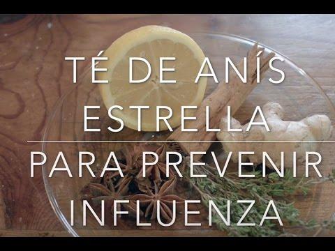 Té para prevenir influenza