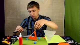 мастеркласс - Резиномоторный Вертолет _(летающая модель вертолета . автор Илья Шереметов. Участвуйте в конкурсах на сайте http://ginger-cat.ru/ ., 2013-03-18T18:45:32.000Z)