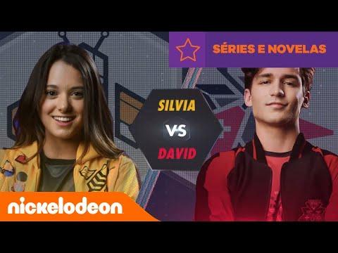 Noobees | Noobees VS Rockers: Silvia VS David | Brasil | Nickelodeon em Português letöltés
