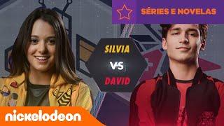 Noobees | Noobees VS Rockers: Silvia VS David | Brasil | Nickelodeon em Português