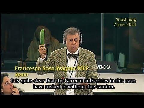 E.coli outbreak: EU representatives trade accusations in Strasbourg, Luxembourg