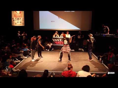 Instinct Battle 2017   1/8 Finale HipHop   BDV Vs Sushi Time