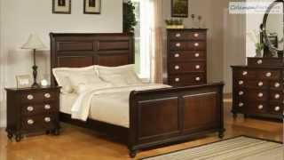 Temre Sleigh Bedroom Collection From Coaster Furniture