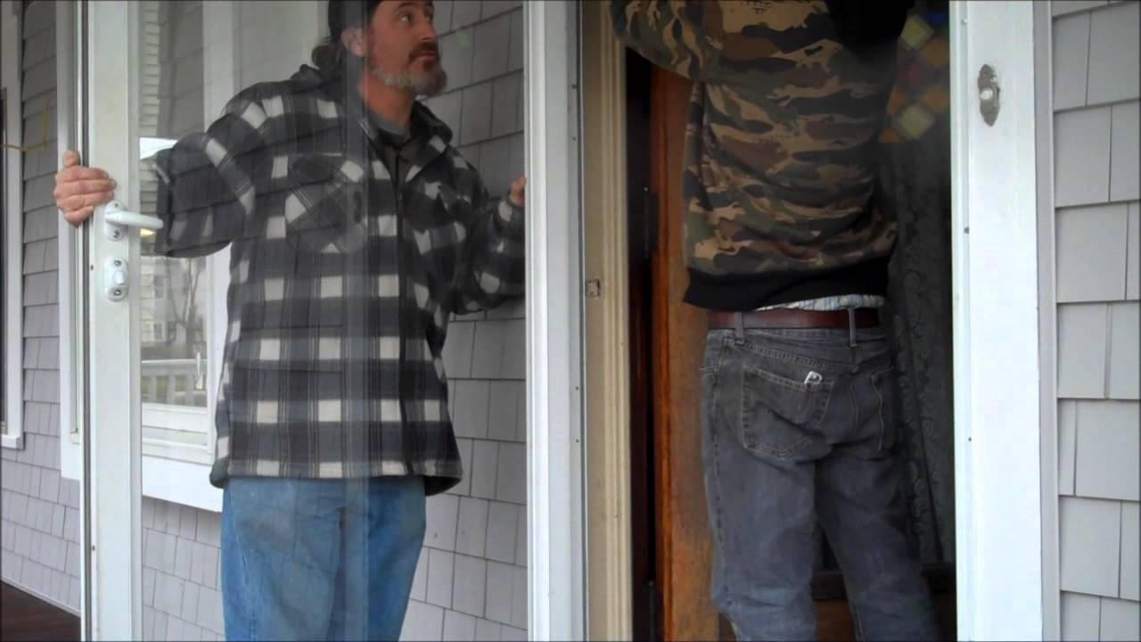 Storm Door Repair - YouTube