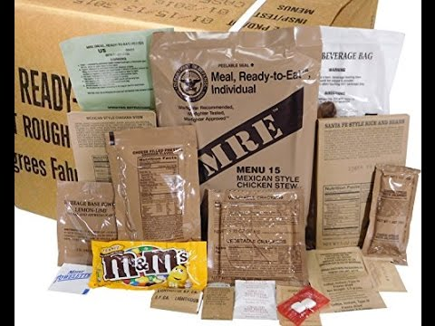 Christian Prepping & Emergency Food 2017 - Expired MRE's