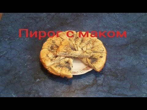 Сочный творожный кекс с маком