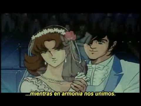 Robotech II: Matrimonio de Rick Hunter y Lisa Hayes / The marriage of Rick Hunter and Lisa Hayse