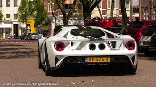 AFROJACK HIS BRAND NEW FORD GT IN AMSTERDAM! | Startup, Driveby and detailshots