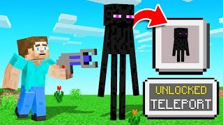We TURNED MOBS Into ITEM PETS! (Minecraft)