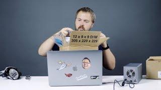 Распаковка посылки из США за 120.000 руб.