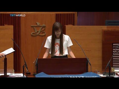 Hong Kong Democracy: Umbrella Movement leaders sworn in as lawmakers