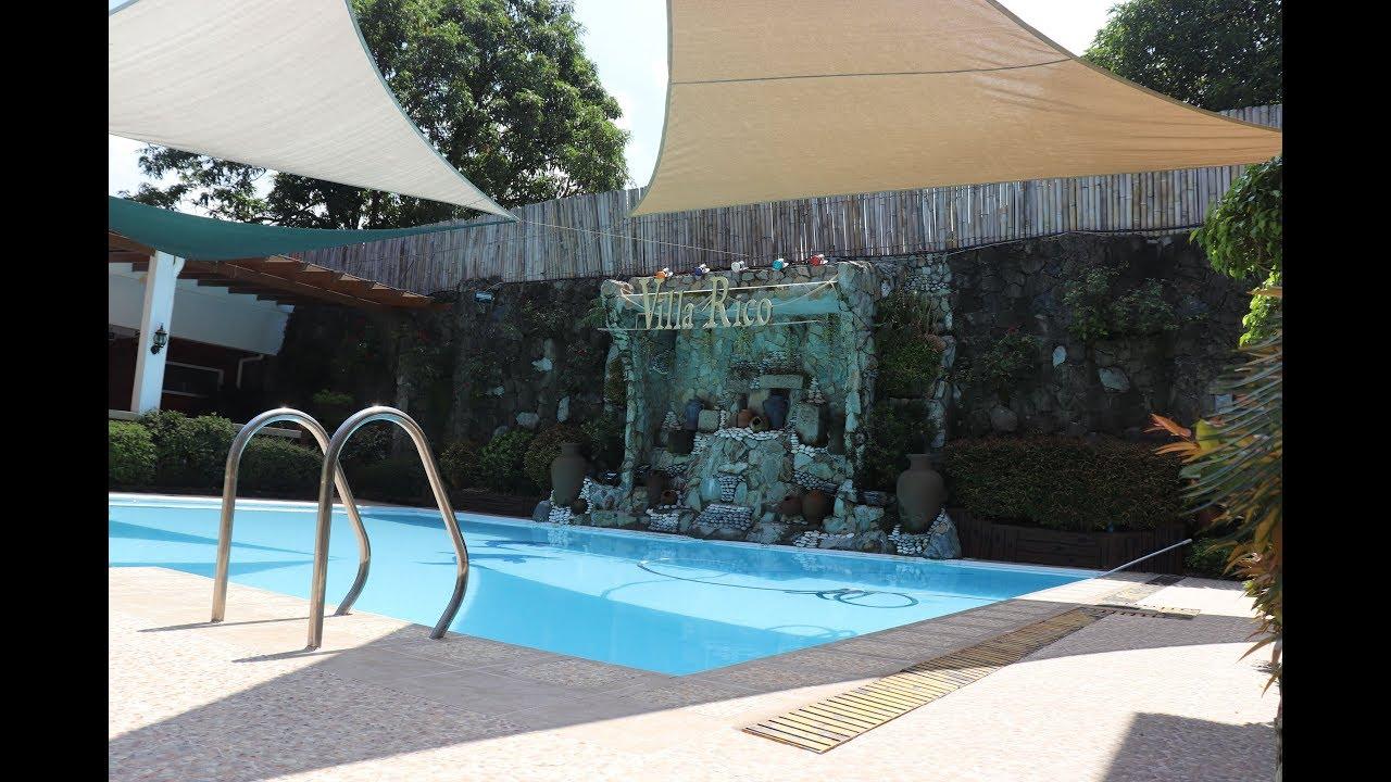 Villa Rico Resort Walk Tour In Novaliches Town Proper Youtube