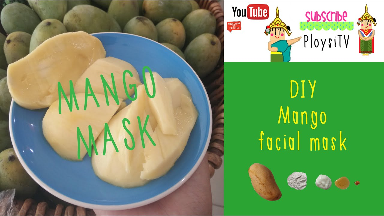 Mango facial mask