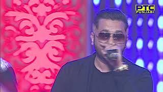 yo yo honey singh performing at ptc punjabi film awards 2016 grand event ptc punjabi