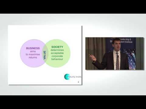 Stuart Woollard explains Human Governance