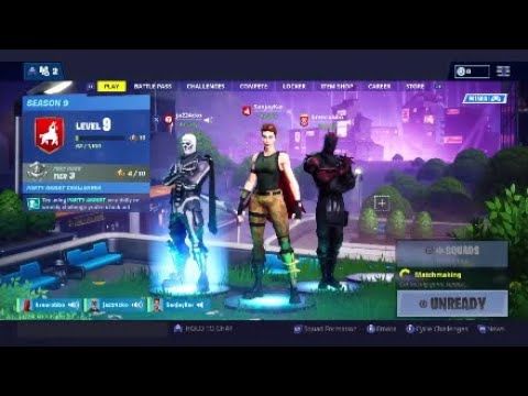I made from friends. Epic Fortnite Match Part 3