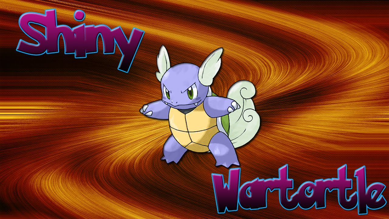 shiny wartortle x and y