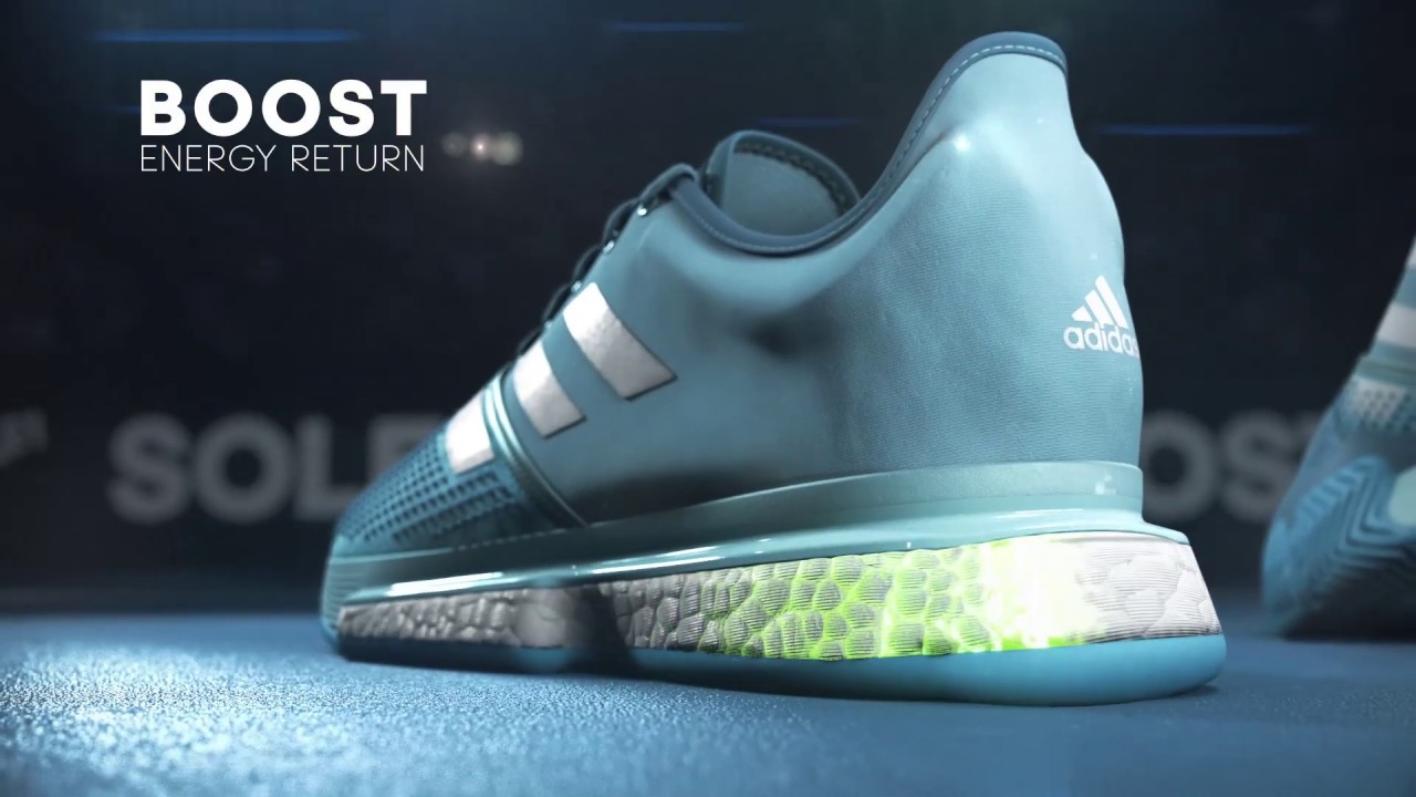 4a7f16b536750 adidas SoleCourt Boost Tennis Shoe Overview - YouTube
