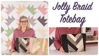 How To Make The Jolly Braid Totebag - Fat Quarter Shop