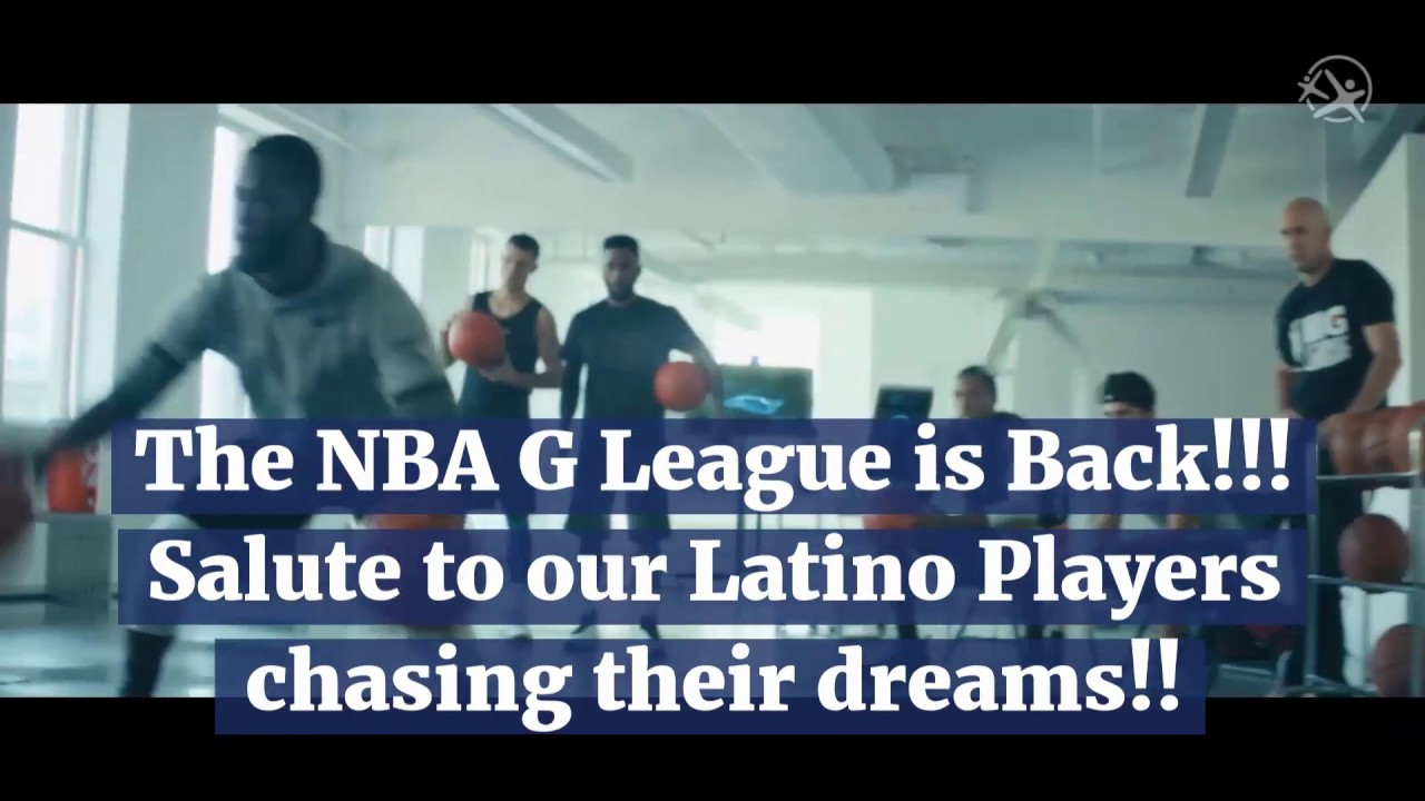 Latino Players in the NBA G League