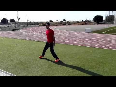Ejercicios de calentamiento para atletismo: Movilidad articular