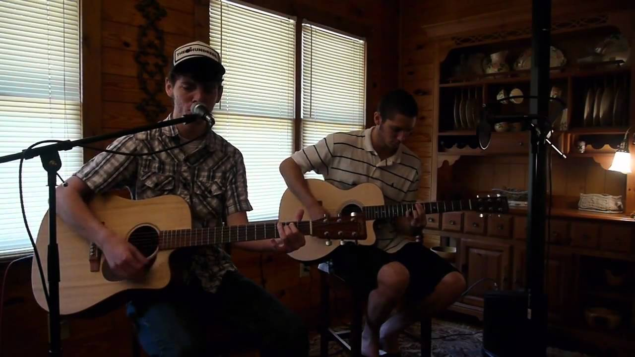 dierks bentley-draw me a map  sam holladay and rj dudley acoustic cover