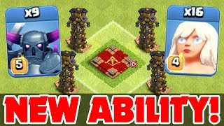 Clash Of Clans | New Level Ability! Gemming The Queen! | All Max Pekka & Healer Attack Strategy!