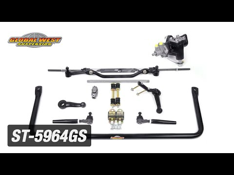 1959-64 Impala and Biscayne | Power Steering Conversion & Bump Steer Kit