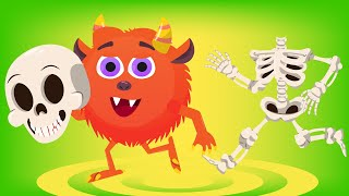 Halloween Baby Ghosts Song for Kids Baby Shark Halloween Song Nursery Rhymes Songs for Kids