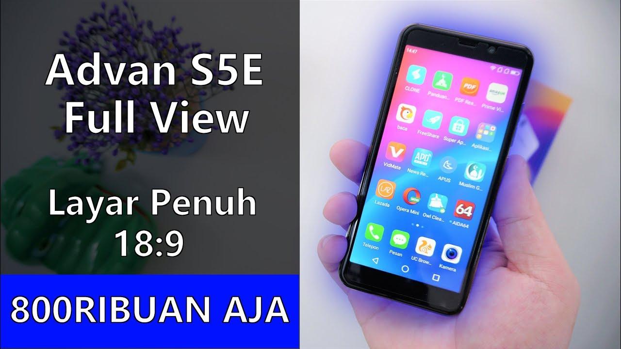 Keren Banget Unboxing Advan S5e Full View Indonesia Youtube S5 E Pro Putih