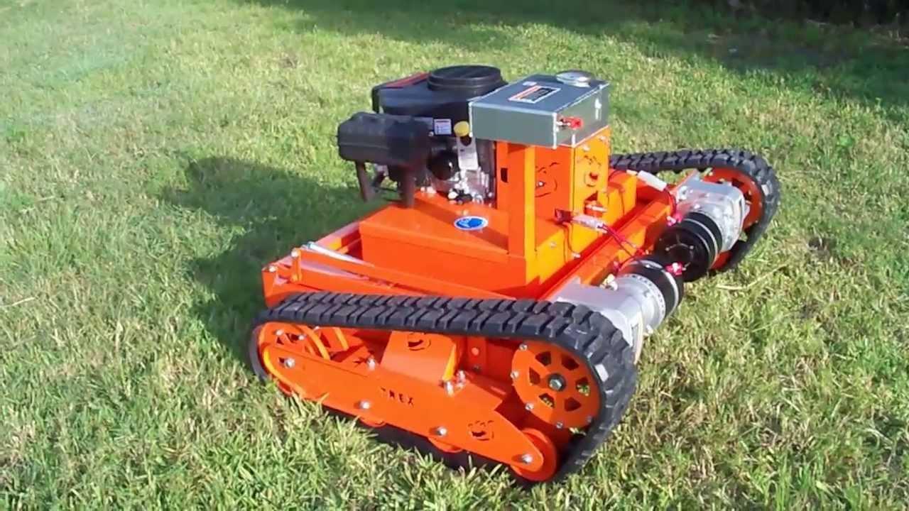how to make a riding lawn mower cut steep
