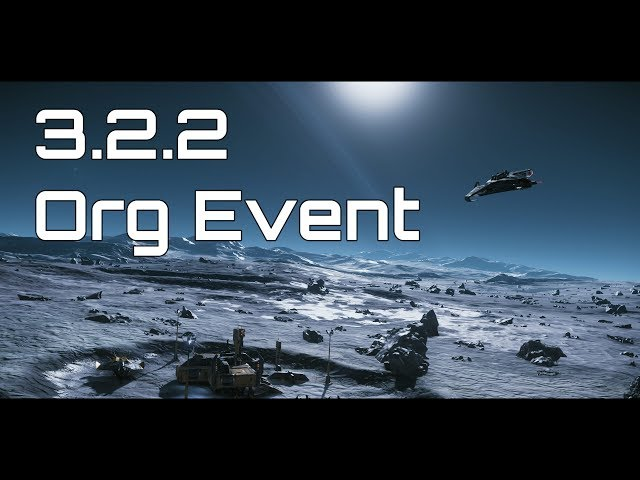 Star Citizen 3.2.2 - Trading Org Event by Synchronizerz ! - 4K