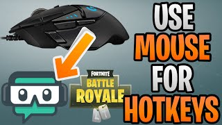 StreamLabs OBS Push To Talk Hotkeys On Mouse Tutorial | How To Rebind Logitech G502 For Fortnite