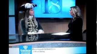 WLFI TV18 Monday Sep 30, 2013   Feast Of The Hunters Moon - Leslie Conwell   (KC9VUL)