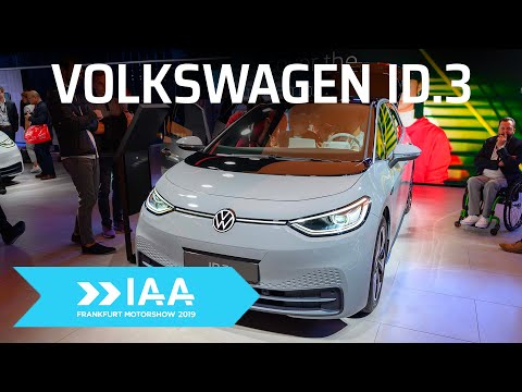 #IAA - Trên tay Volkswagen ID.3: Mẫu xe điện phổ thông đầu tiên của VW
