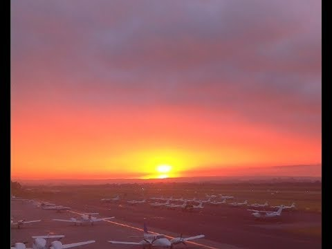 ''AUSTRALIAN SUNRISE'' Perth Jandakot Airport (NE) webcam -22 Aug 2017