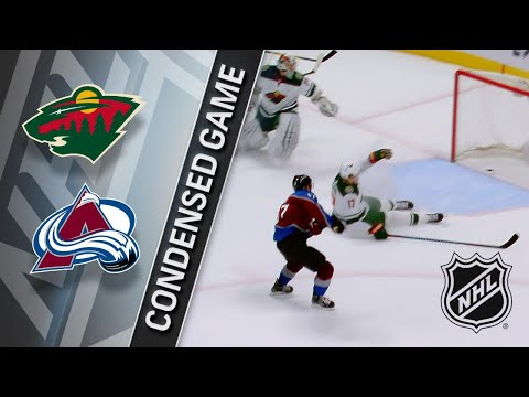 01/06/18 Condensed Game: Wild @ Avalanche