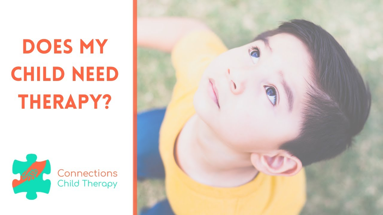 Signs Your Child May Need Therapy